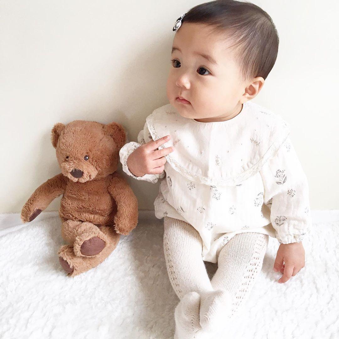 赤ちゃん 頭身