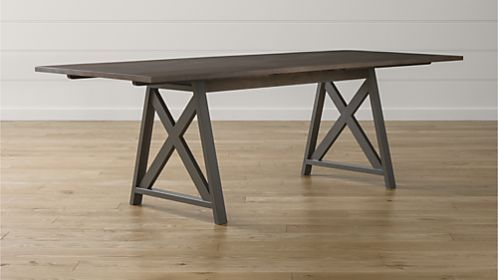 Metra Extension Dining Table With Images Extension Dining Table Dining Industrial Dining Table