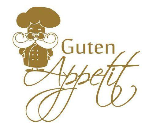 Happy Larry Wandtattoo Guten Appetit, Koch | Wayfair.de #dunklewände