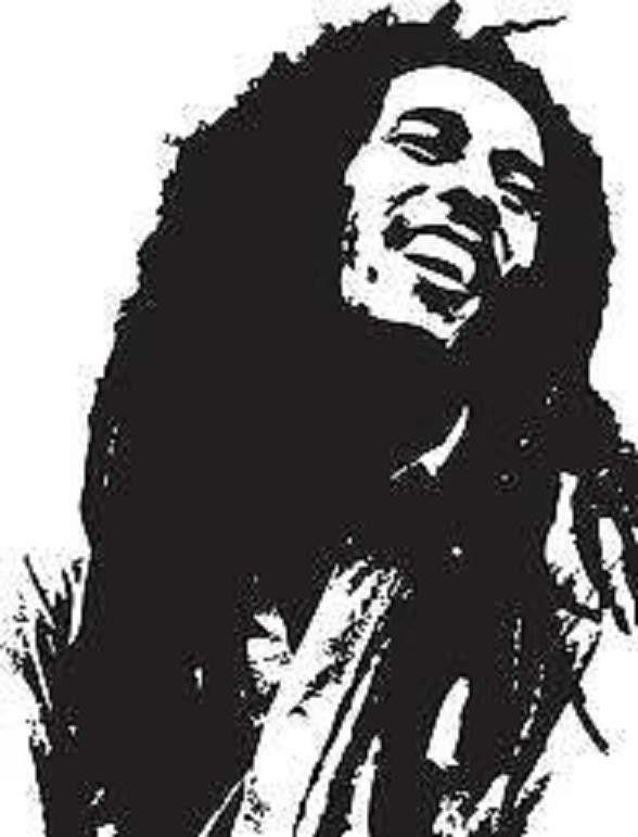 Bob Marley Iron On T Shirt Transfer Or Sticker Reggae Rasta