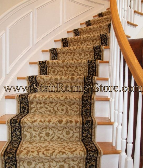 Best House Ideas Curved Staircase Stair Runner Installation 400 x 300