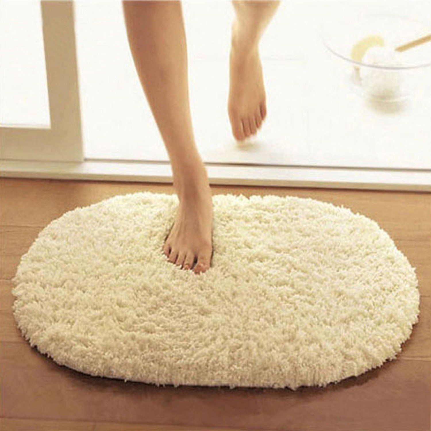 Bathroom Mat Carpets Absorbent Soft Memory Foam Doormat Floor Rugs