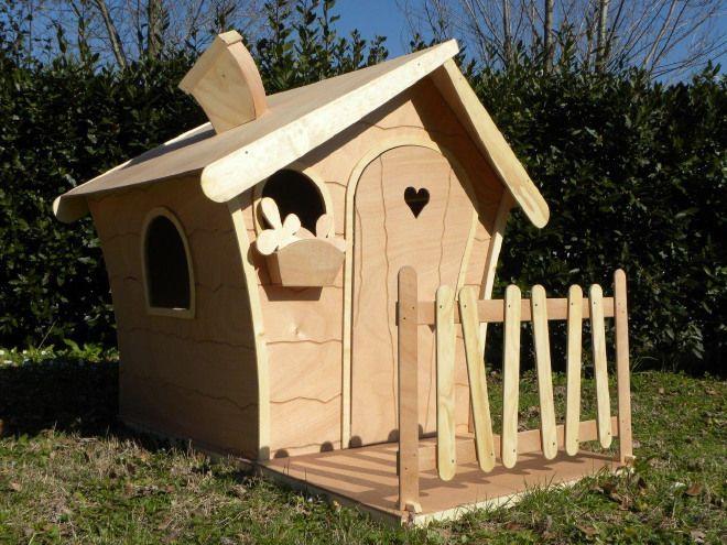Staccionata Bambini ~ Casetta gioco in legno con staccionata per bambini angeloweb
