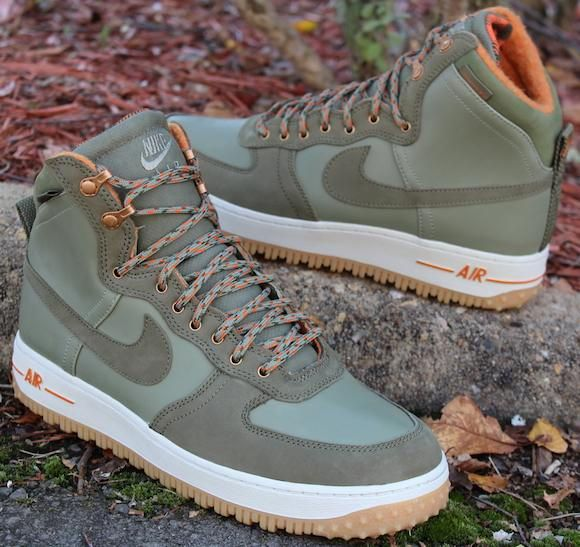 reputable site 7937a cfc83 Nike Air Force 1 High Deconstruct Military Boot Silver Sage Medium  Olive...for the fall