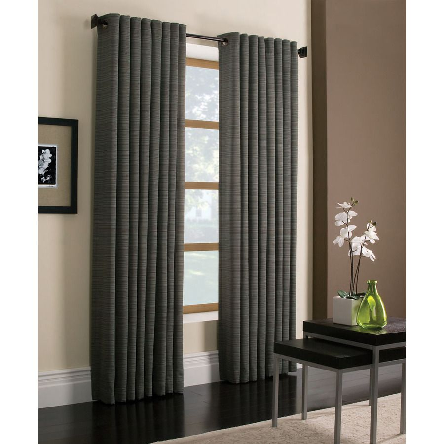 Shop Style Selections 95 In L Brown Marsden Curtain Panel