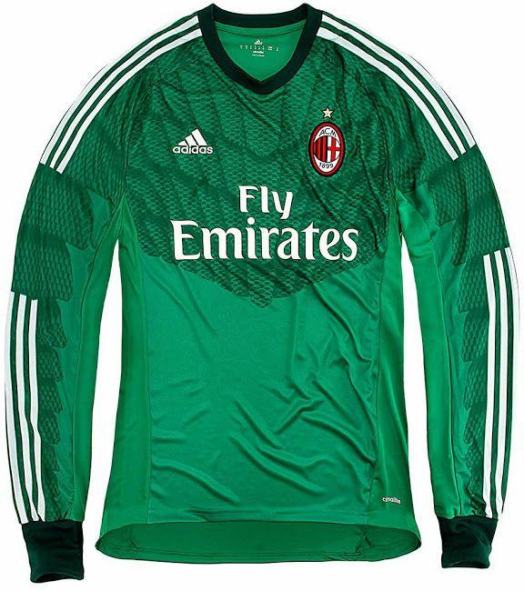 Milan 14-15 Home, Away and Third Kits - Footy Headlines