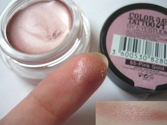New Beauty Review Maybelline Color Tattoo Shade 65 Pink Gold Maybelline Color Tattoo Tattoo Shading Color Tattoo