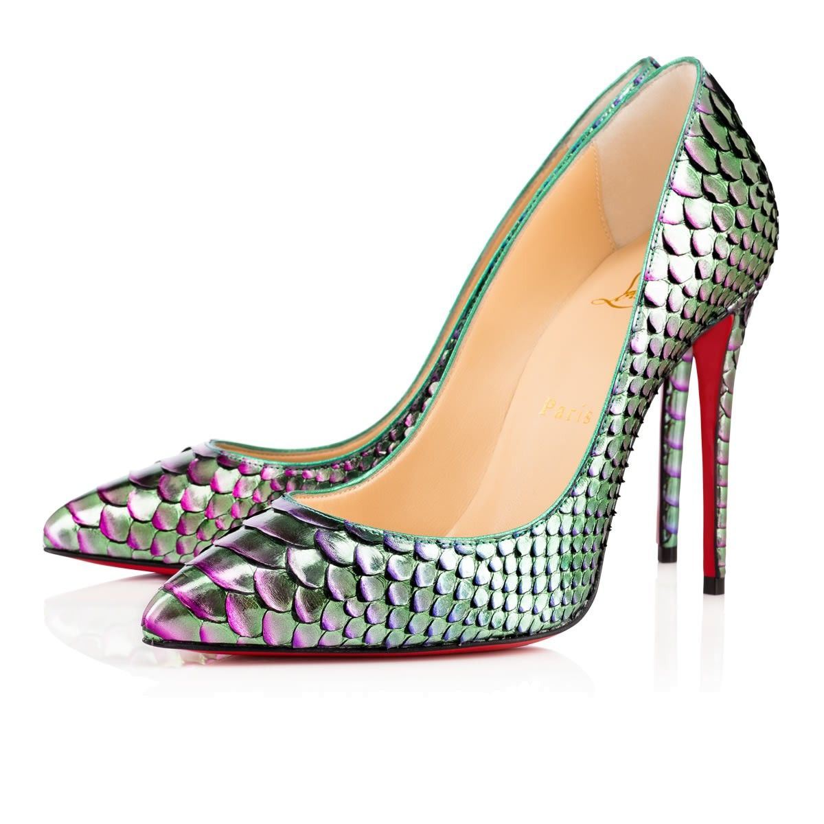 nF41qCG Christian Louboutin Daffodile 160mm Platforms Multicolor Outlet Online