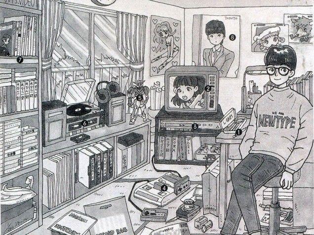 The Evolution Of The Otaku Room Otaku Room Otaku Japanese Room
