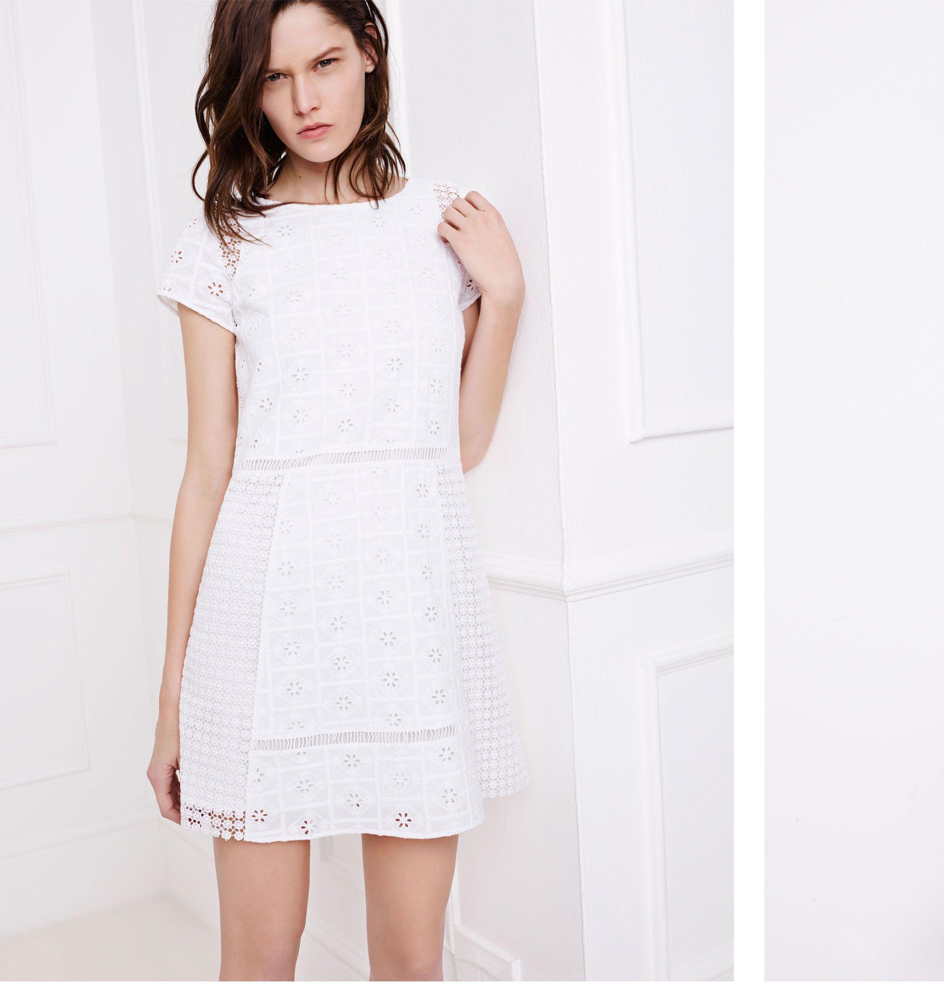 Vestidos blanco zara 2018