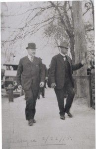 Julius Rosenwald and Booker T Washington