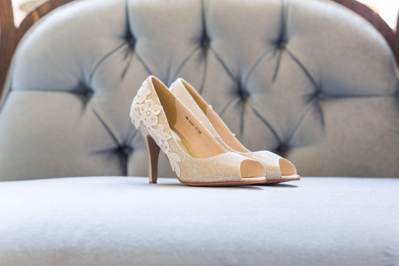 Gold Heels Wedding Shoes Bridal By Walkinonair