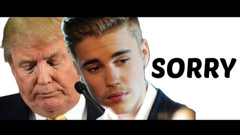 DONALD TRUMP SINGS SORRY BY JUSTIN BIEBER