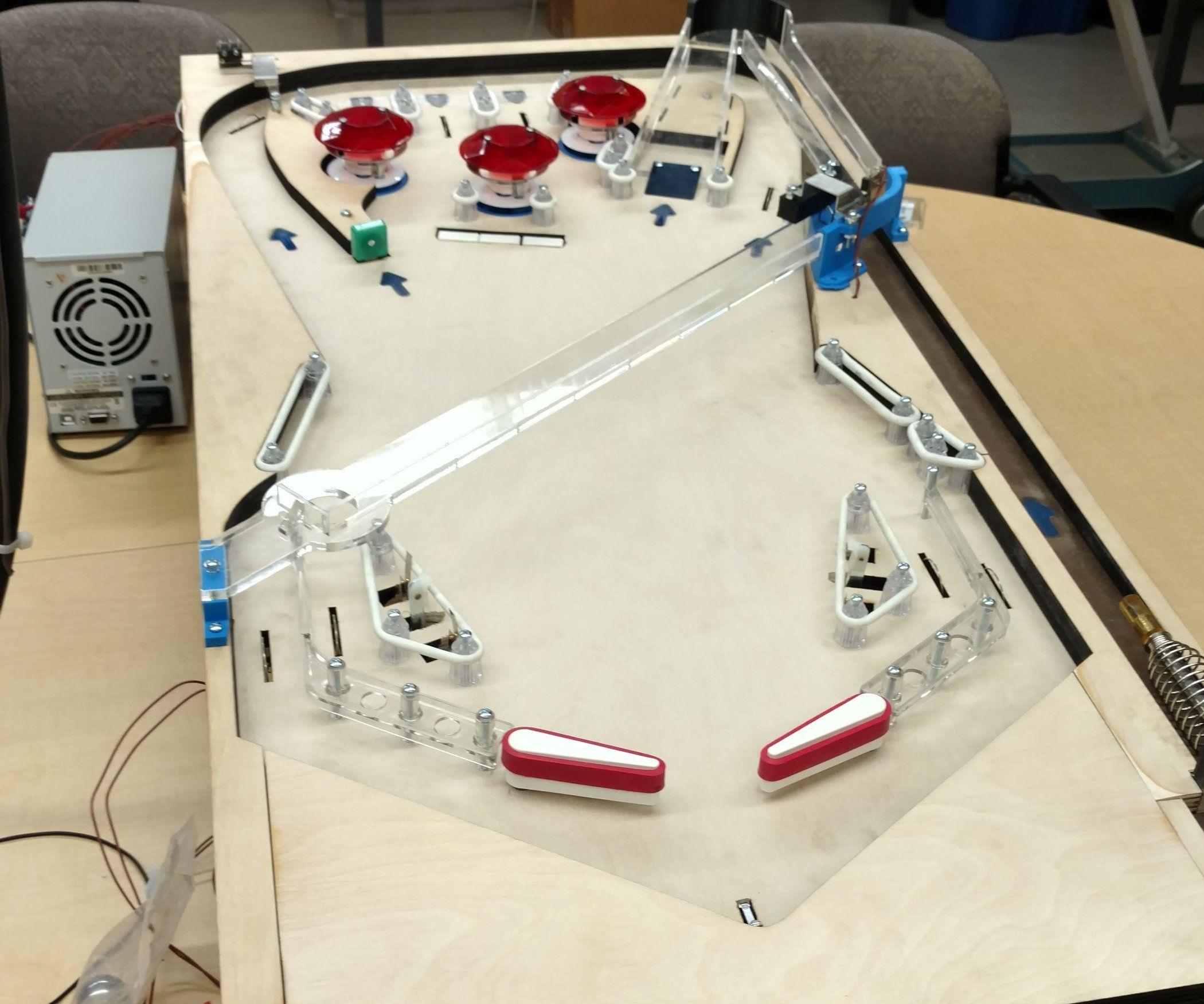 How to Build an Arduino Pinball Machine | Pinball, Arduino ...