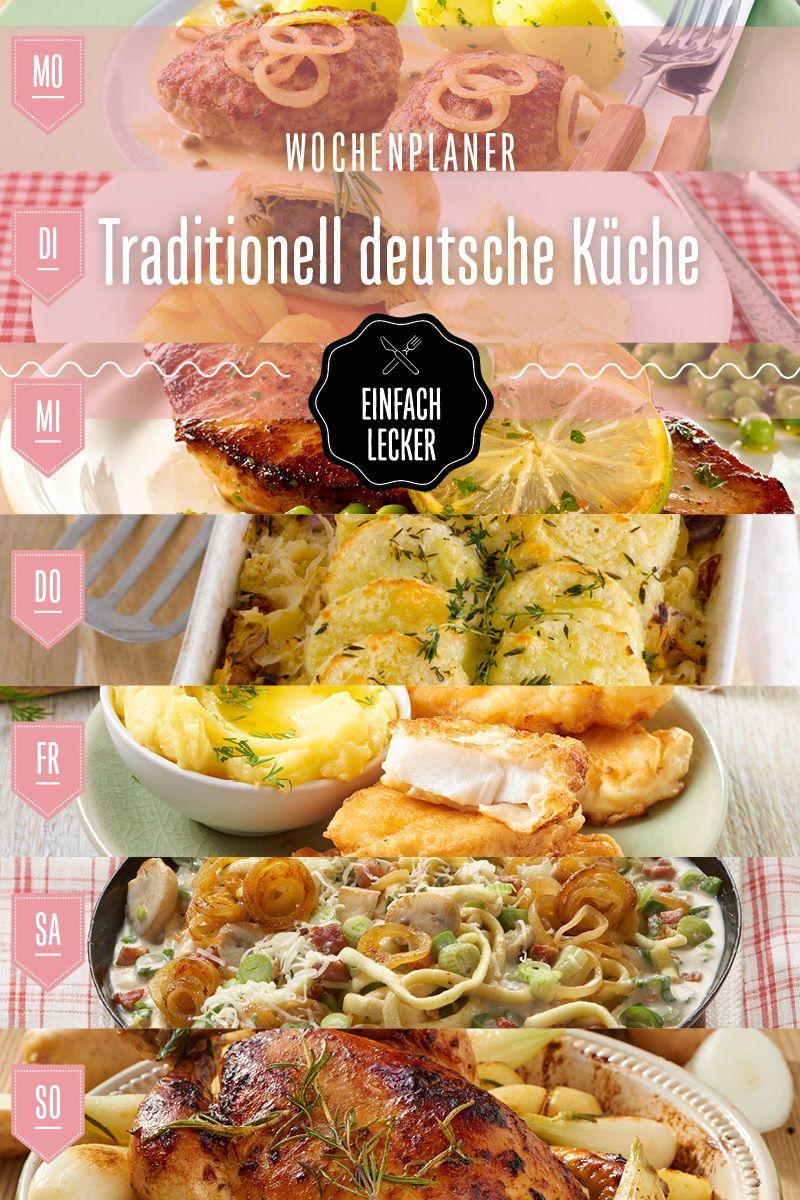 Schnell Und Traditionell Kochen Von Montag Bis Sonntag Lebensmittel Essen Lecker Einfach Lecker