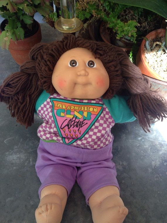 Cabbage Patch Club Doll 1989 Cabbage Patch Dolls Cabbage Patch Cabbage Patch Kids
