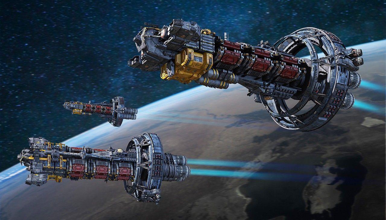 Космические корабли королева картинки