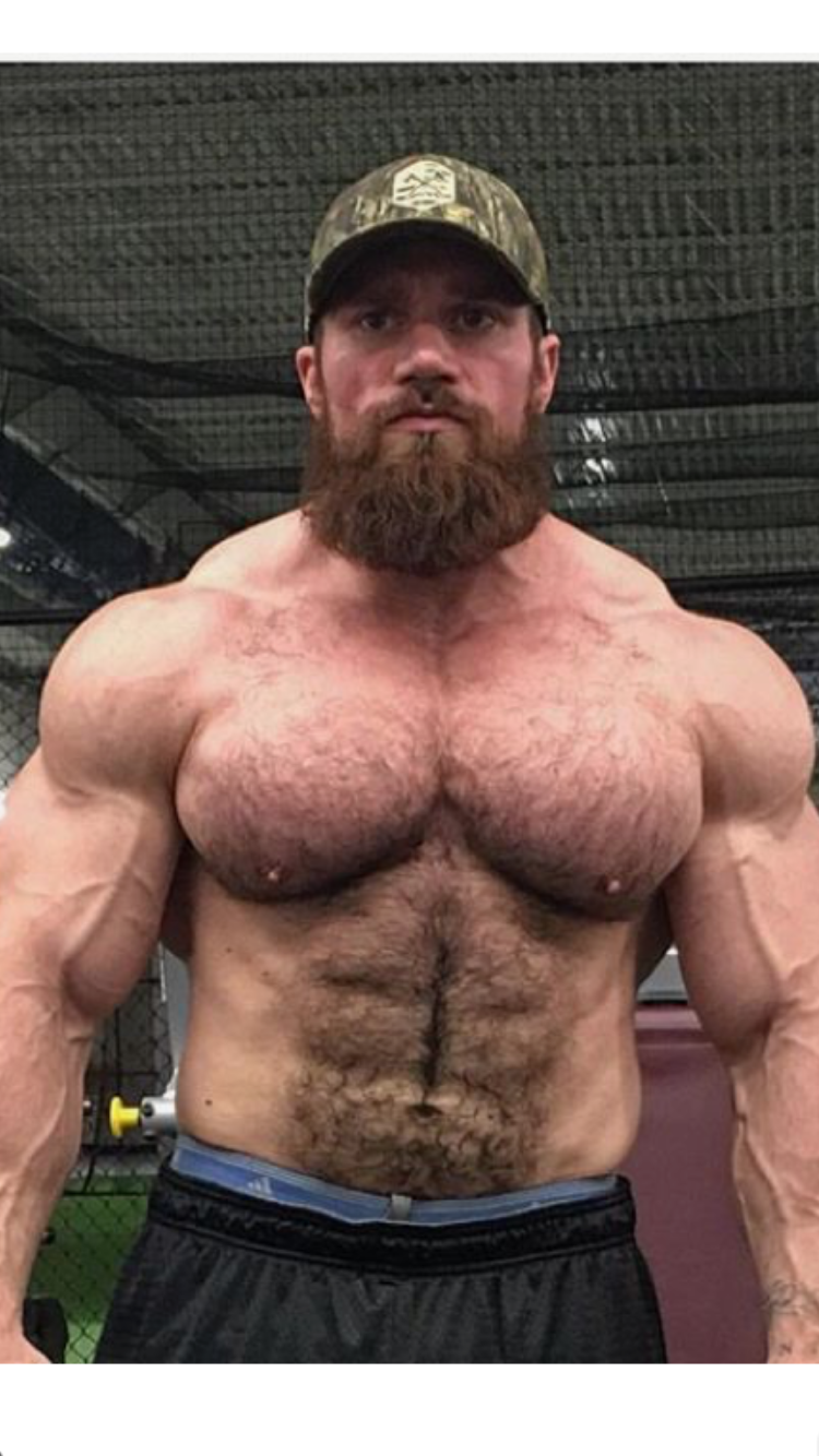Big hairy muscle
