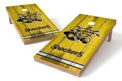 Wichita State Shockers Single Cornhole Board - Vintage
