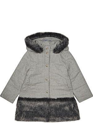 ce5a9ba68310 PATACHOU Faux-fur trim jacket 4-14 years