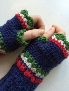 Pulswärmer Armstulpen Fingerlose Handschuhe Häkeln Häkeln
