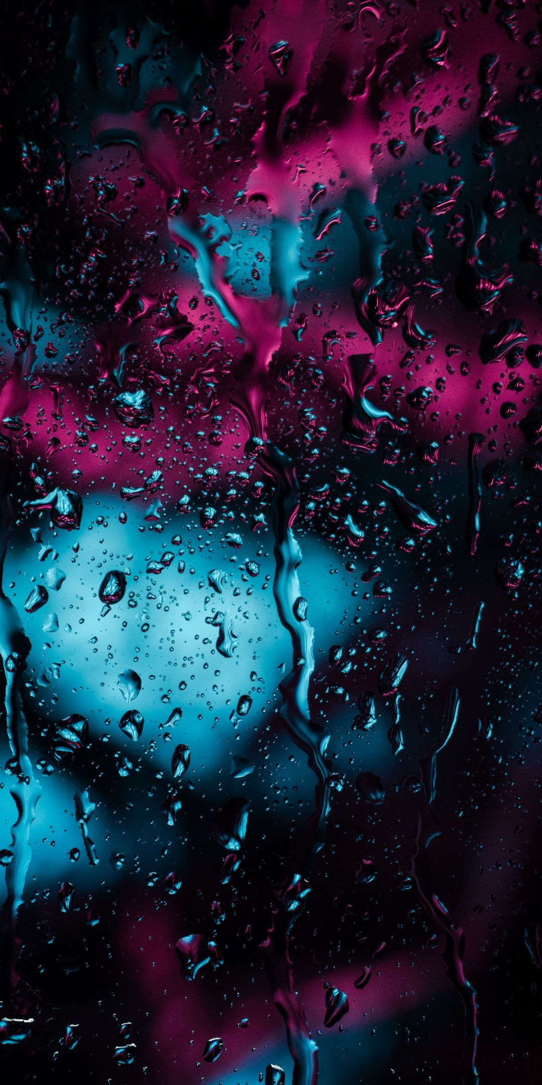 Water Drops Surface Dark 1080x2160 Wallpaper Qhd Wallpaper Live Wallpaper Iphone Neon Wallpaper