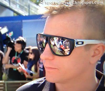 39c62489fe Kimi Raikkonen Wearing Oakley Dispatch Sunglasses