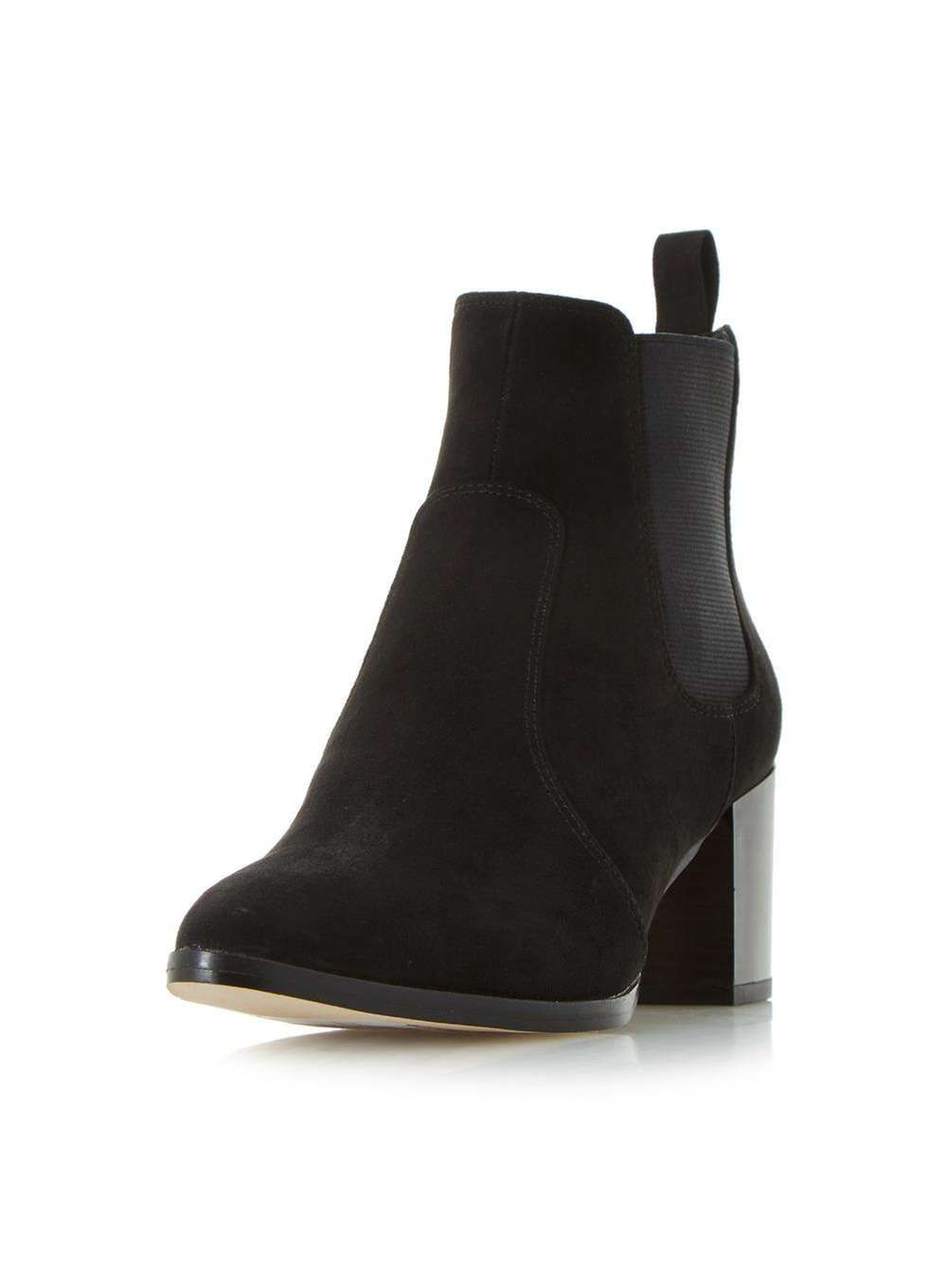 Dune Black 'Pagey' Ankle Boots