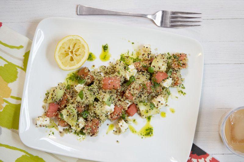 Sweet Summertime Salad | Not Crocked, But Still Quick