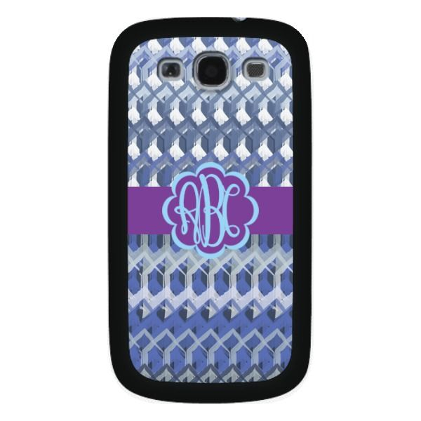 Samsung Galaxy S3 Crochet Monogram Case