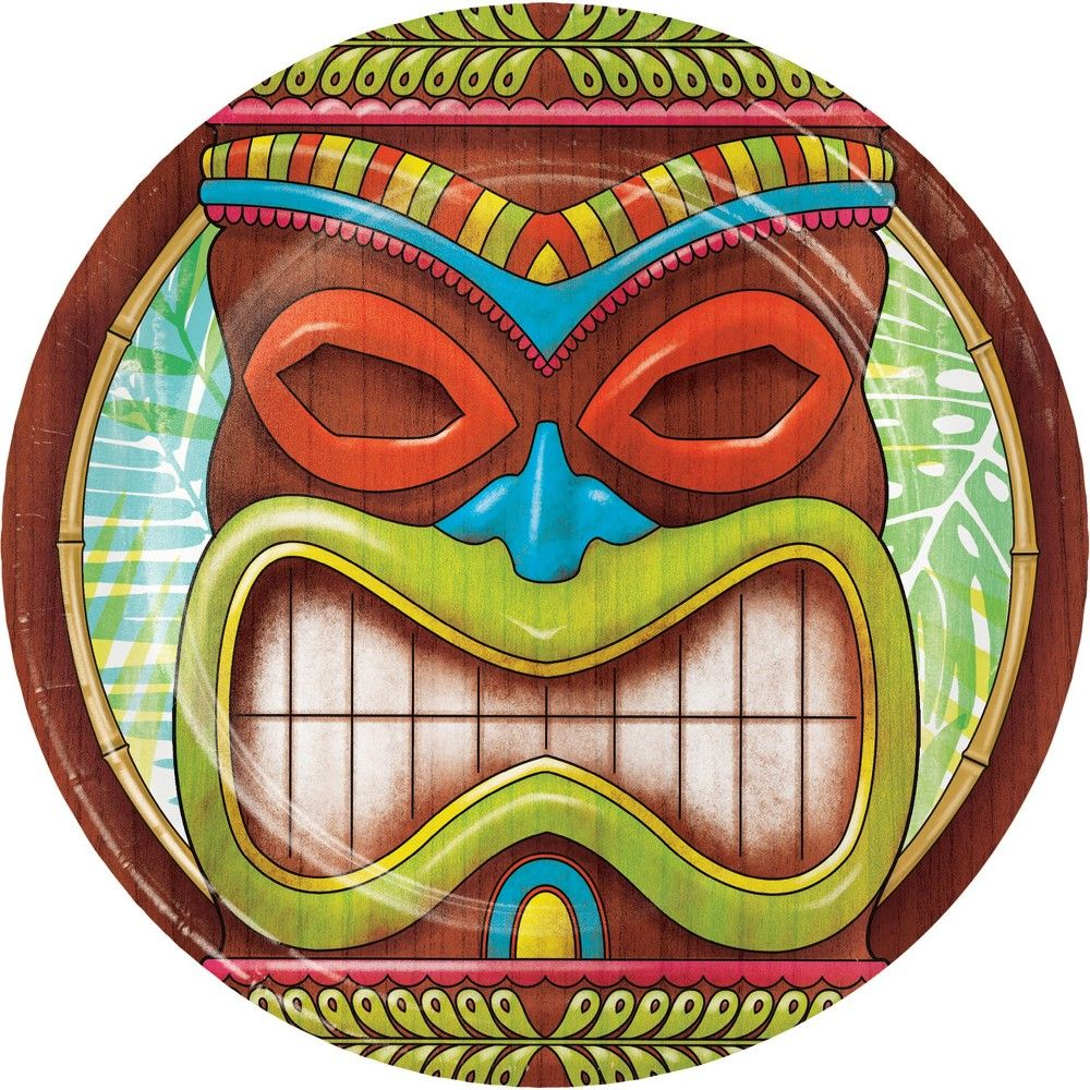 Tiki Time Centerpiece Luau Hawaiian Party Decorations Supplies