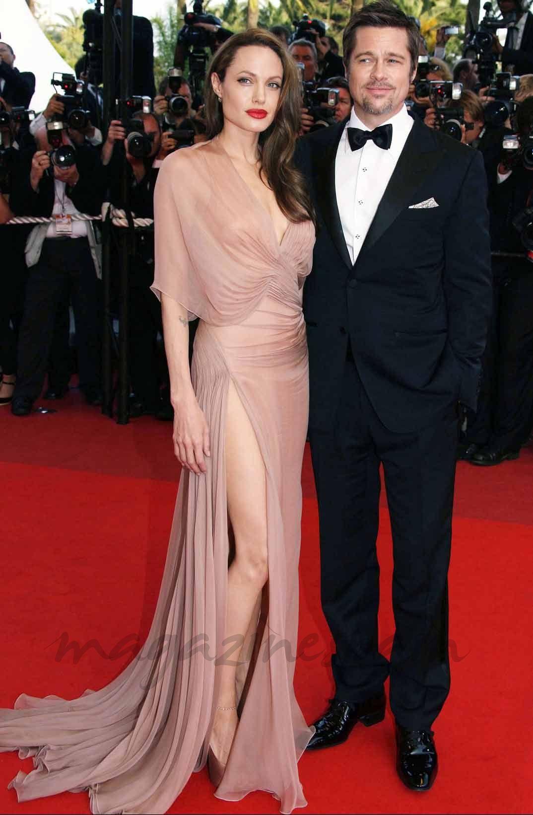 El vestido de novia de Angelina Jolie | Pinterest | Angelina jolie ...