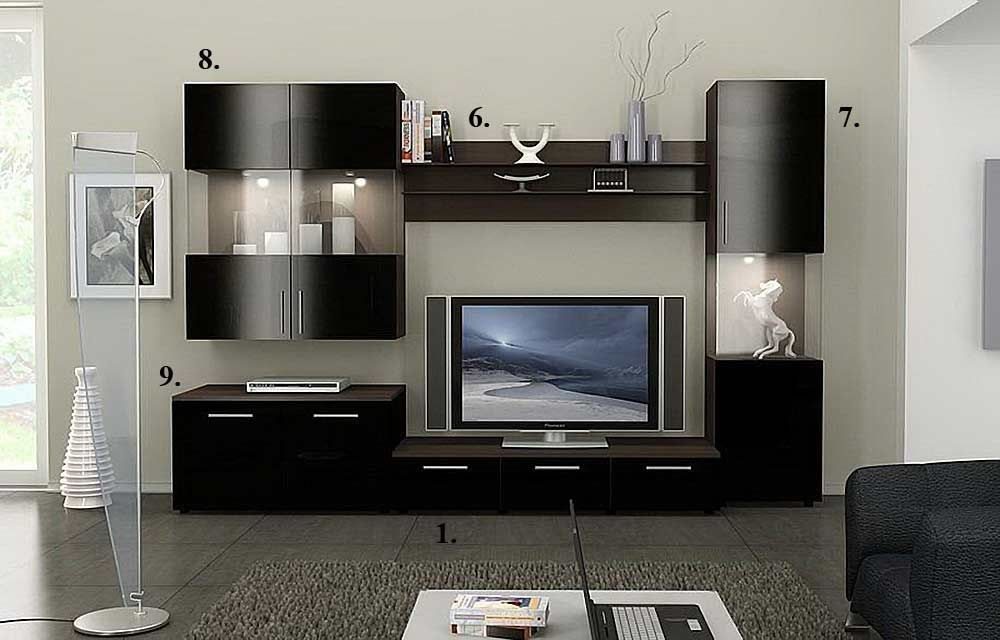 Largest Entertainment Centers and Wall Units collection  Evaluate the  impressive design and compact size of this unusual Figaro Modern Wall Unit  Wall Mount  Alfredo TV stand collection   L i v i n g R o o m   F o y e r  . Wall Unit Designs For Small Living Room. Home Design Ideas