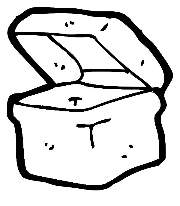 Coloring Page Lunch Box