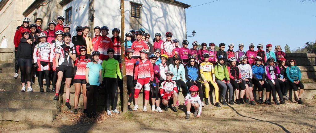 II kedada ciclista femenina do club Os esfola arrós   marzo 2012