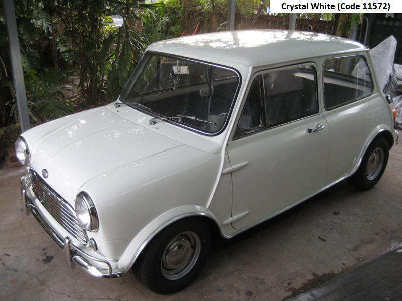 Australian Mk2 Morris Cooper S Crystal White Mini Cooper S Mini Cooper Mini