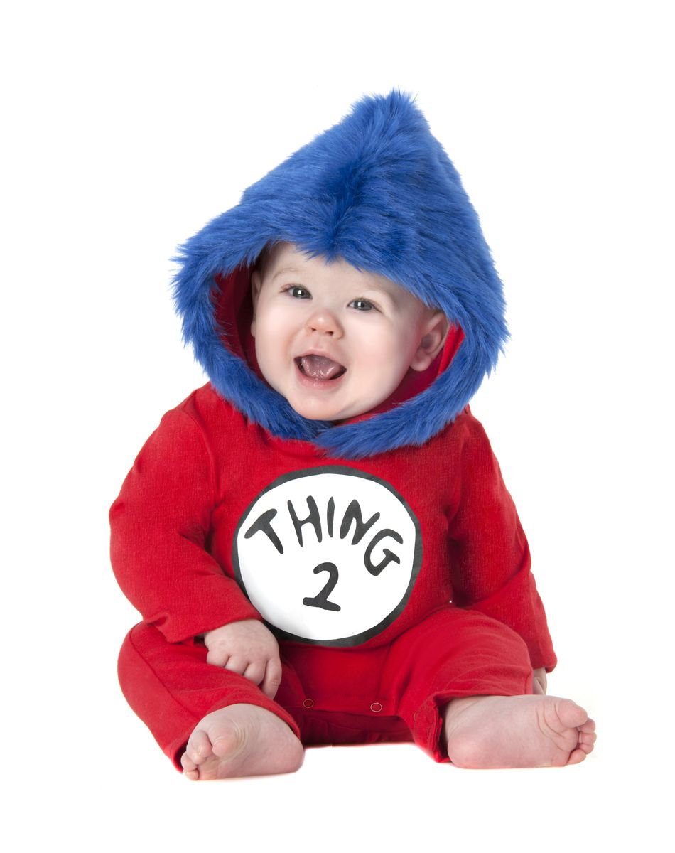 Dr. Seuss Thing 2 Boy Baby Costume  sc 1 st  Pinterest & Dr. Seuss Thing 2 Boy Baby Costume | Infant u0026 Toddler Boy Costumes ...