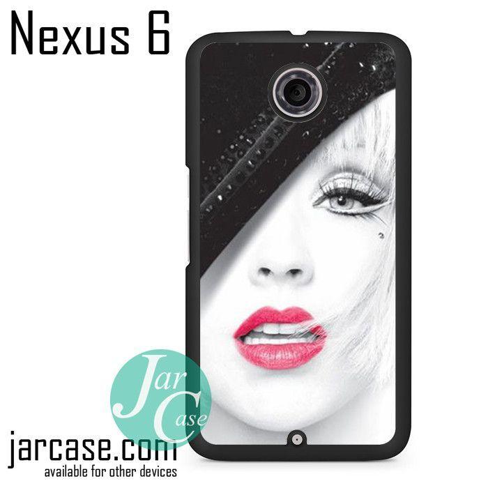 Christina Aguilera Art Phone case for Nexus 4/5/6