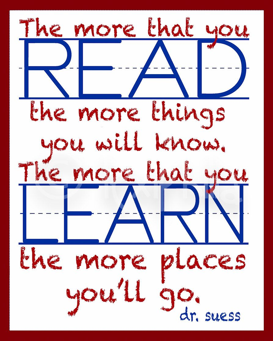 Reading Quotes For Kids Perfect Bookmark Quote  Drseuss  Pinterest  School Dr Seuss