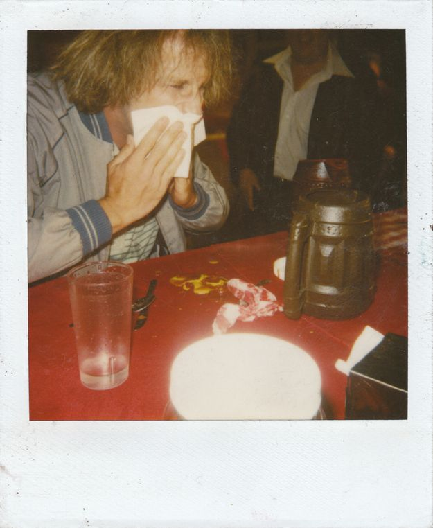 """Jeff Daniels on the set of """"Dumb and Dumber"""" 