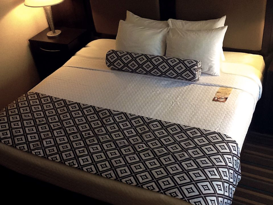 Check out our ALL NEW bedding!! Part of Crowne Plaza Hotel's