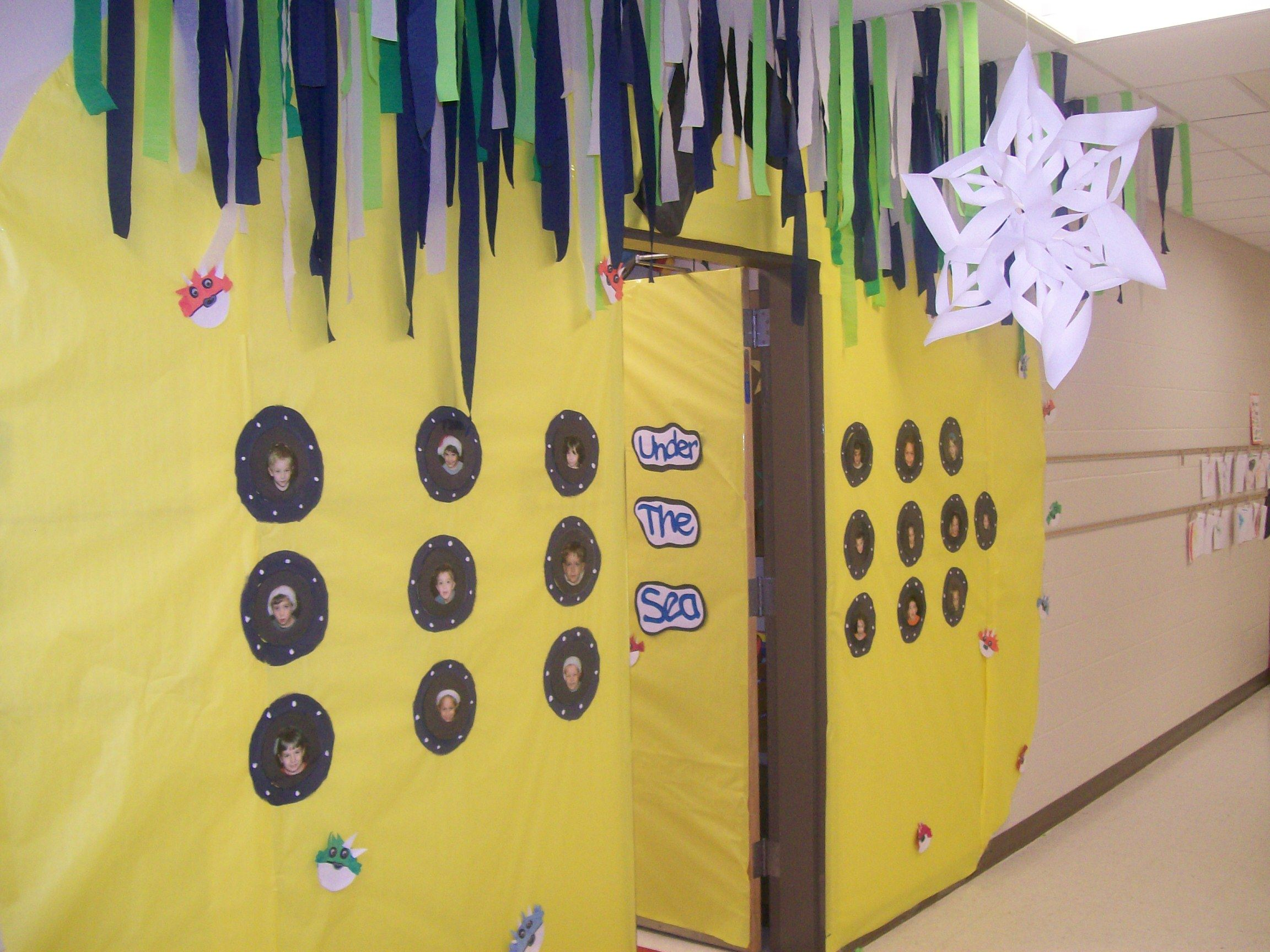 Yellow Classroom Decor : Under the sea unit. turn your classroom into a yellow submarine