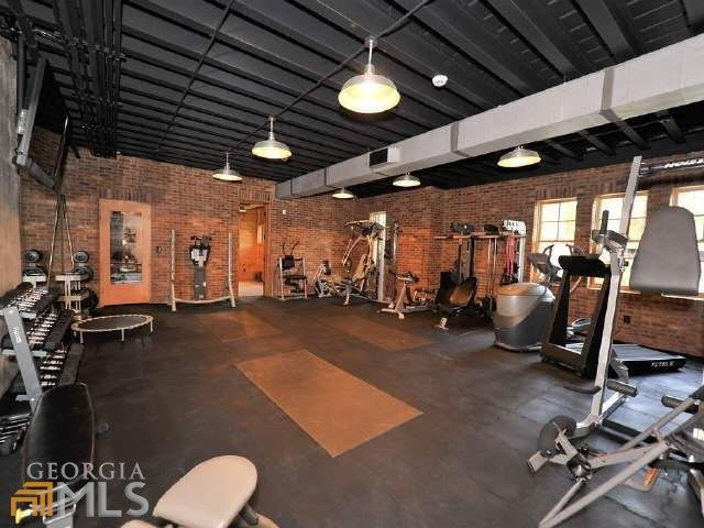 Black ceiling home gym home gym at home gym house workout rooms