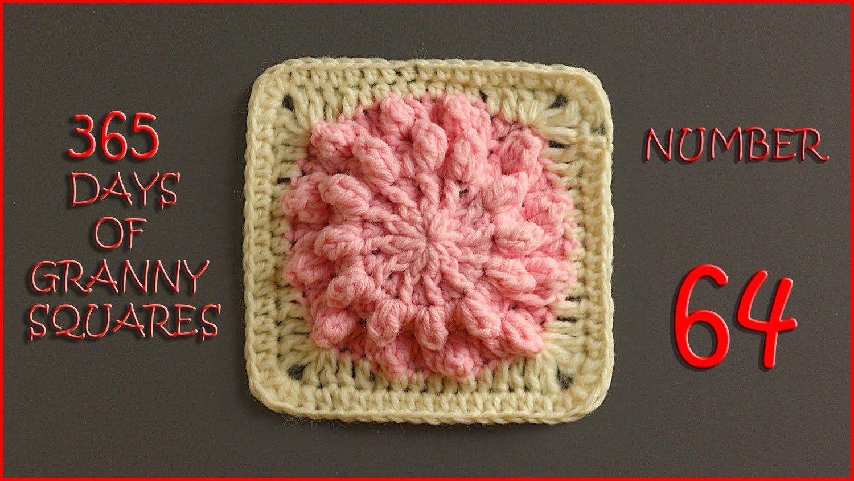 365 Days of Granny Squares Number 64 | motifler | Pinterest | Decken