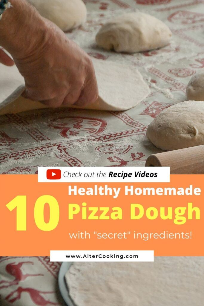 10 Healthy Pizza Crust Recipes with Amazing Ingredients