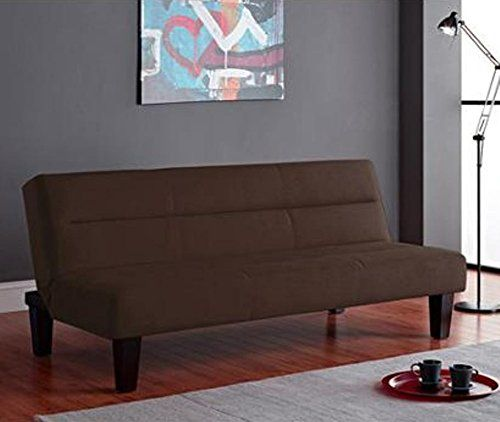 Dorel Home Products Kebo Futon Sofa Bed Brown