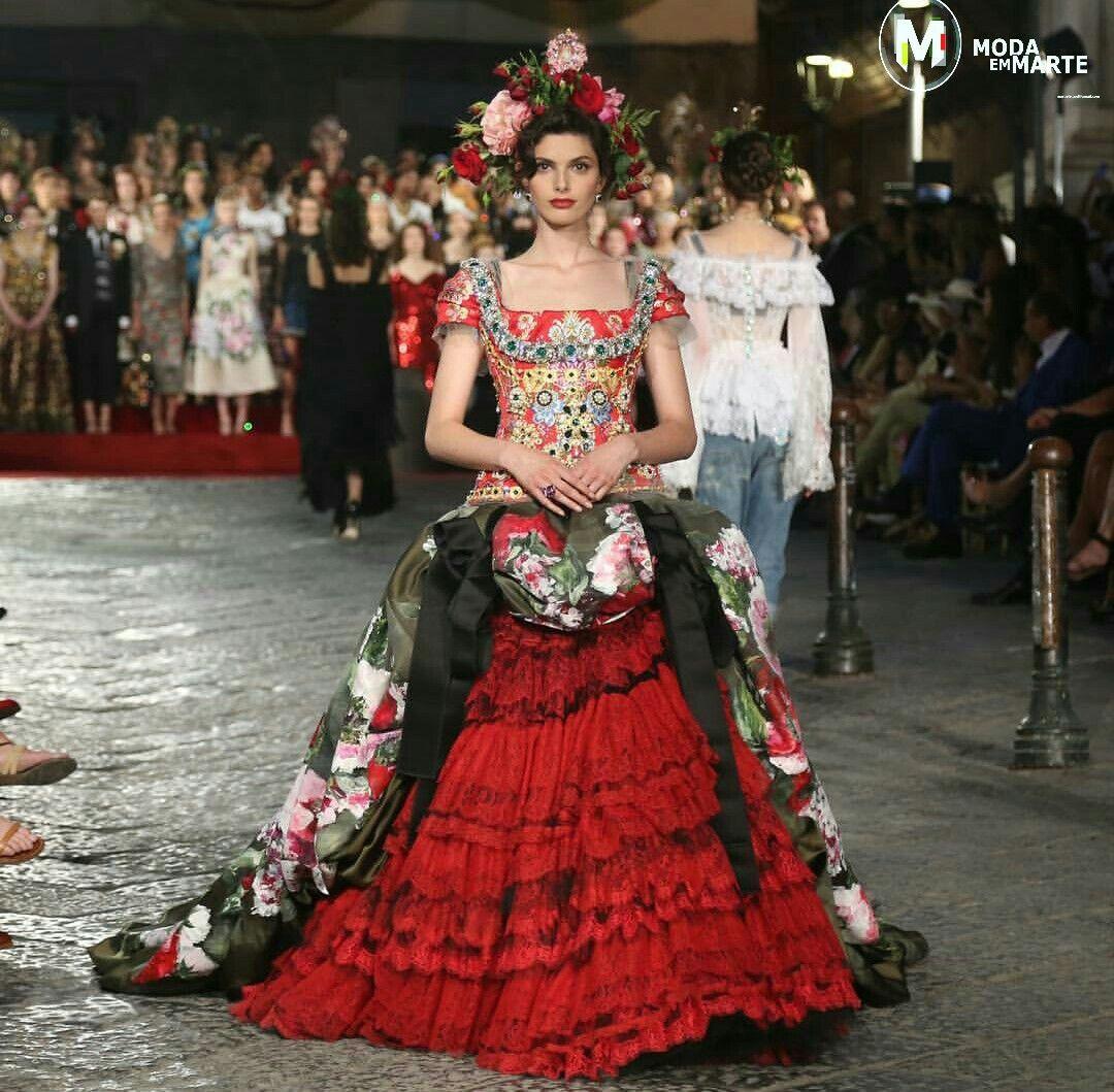 Dolce & Gabbana Alta moda na Itália