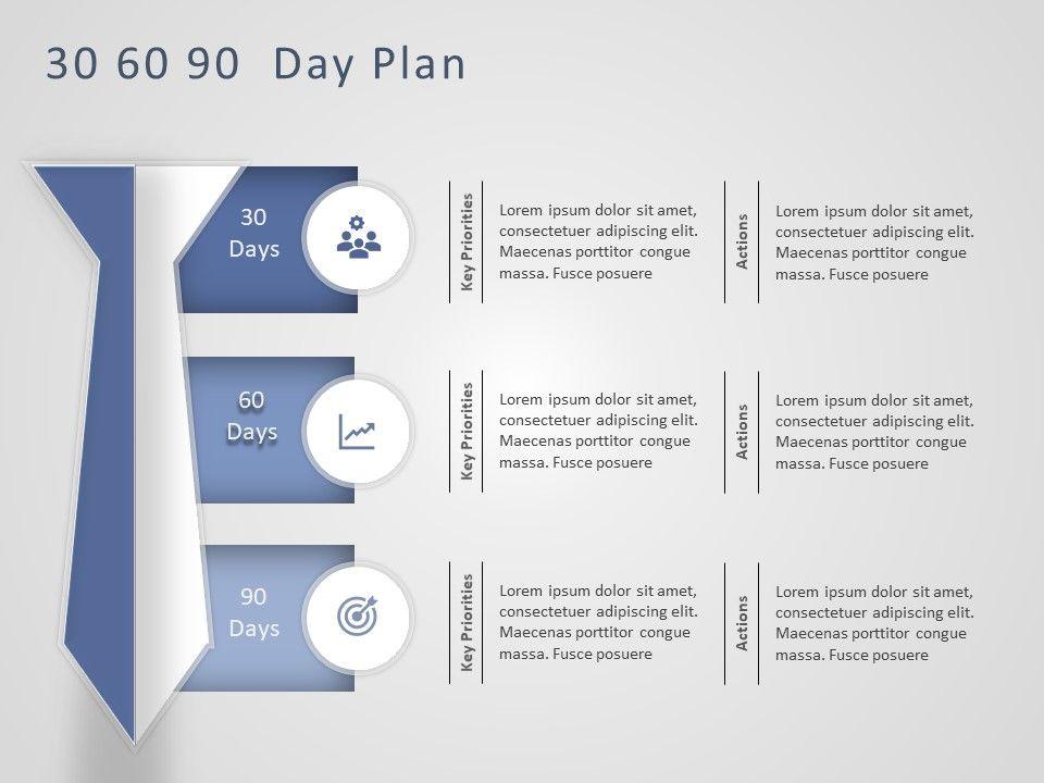 30 60 90 Day Plan Powerpoint Template 8 SlideUpLift