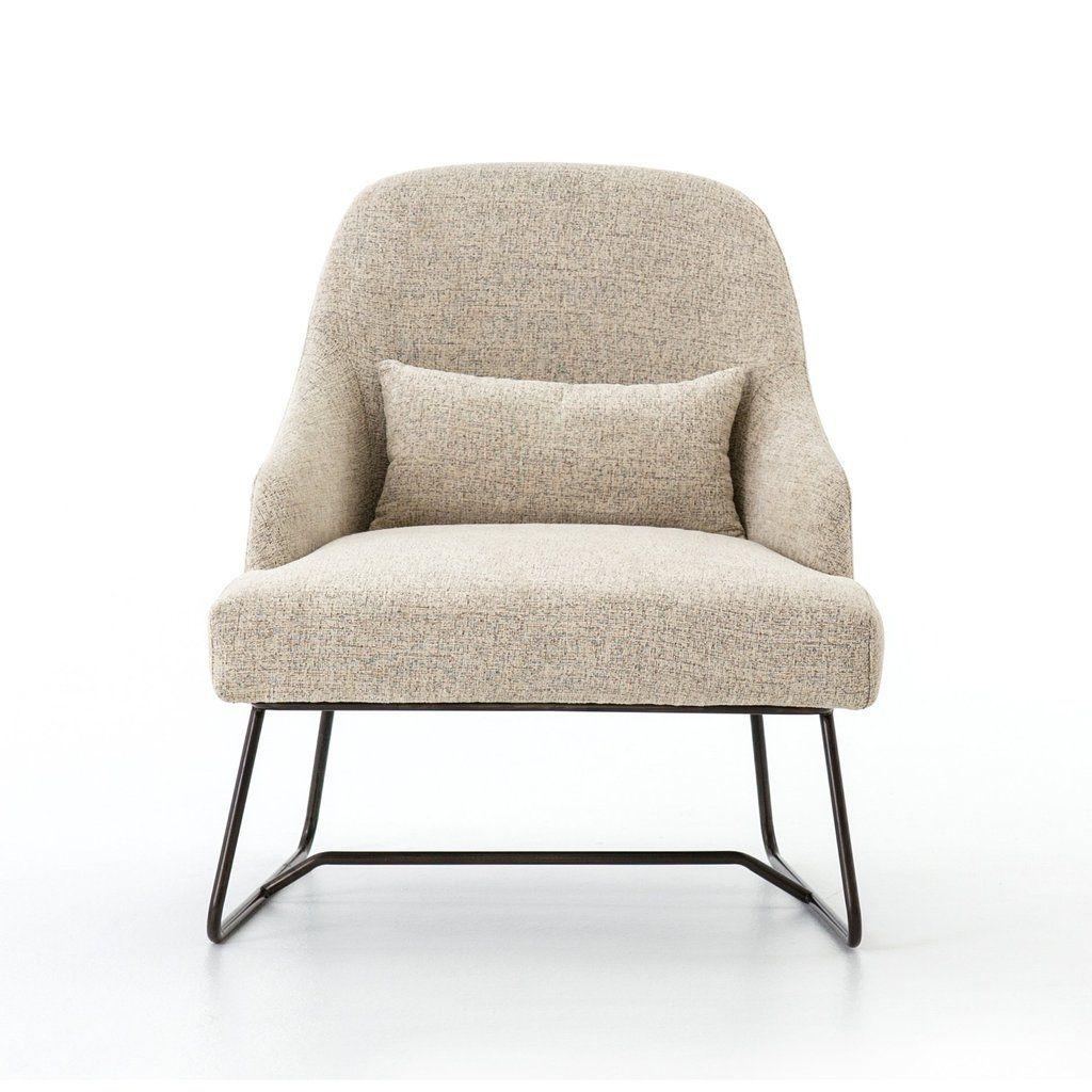 Chani Chair In Plushtone Linen Upholstered Arm Chair Occasional Chairs Occasional Chairs Living Room #occasional #living #room #chairs