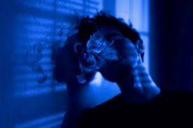 Image Result For How To Do Dark Blue Light Aesthetic